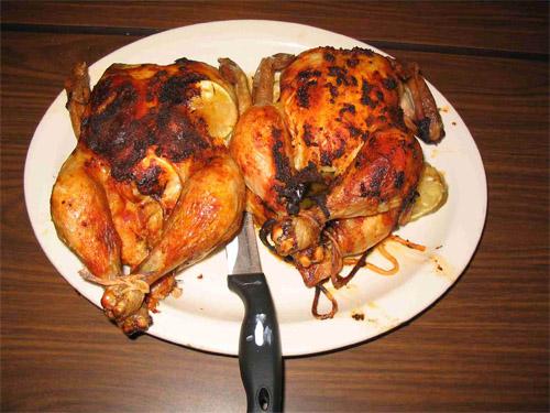 Pollo allo spiedo / galletto