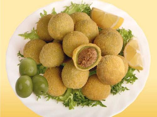 Olive ascolane... Mozzarelline... Fiori di zucchina!