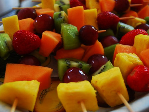 Spiedini di frutta!